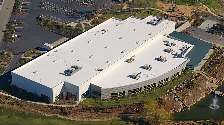 Commercial Roofing Aerial 02