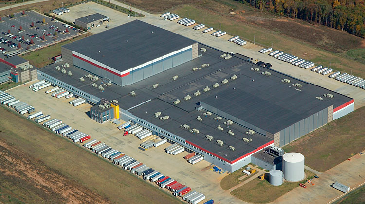 Commercial Roofing Aerial 03