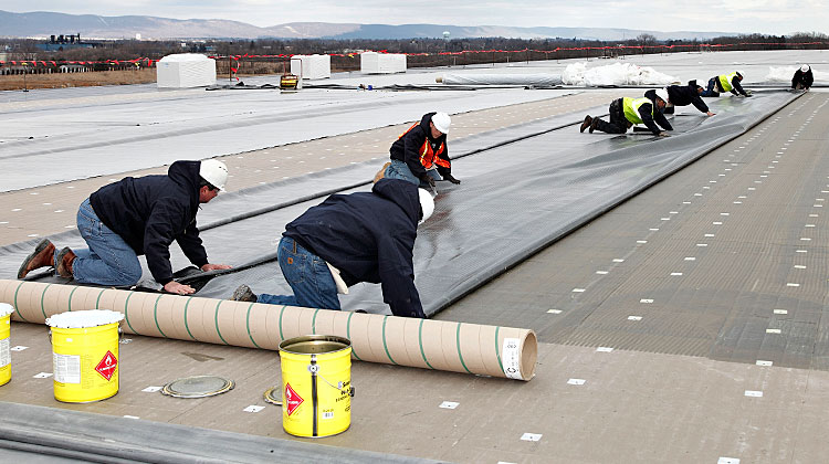 Commercial Roofing Install 02