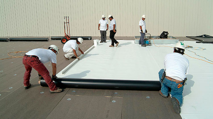 Commercial Roofing Install 09
