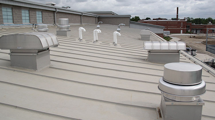 Commercial Roofing PVC 03