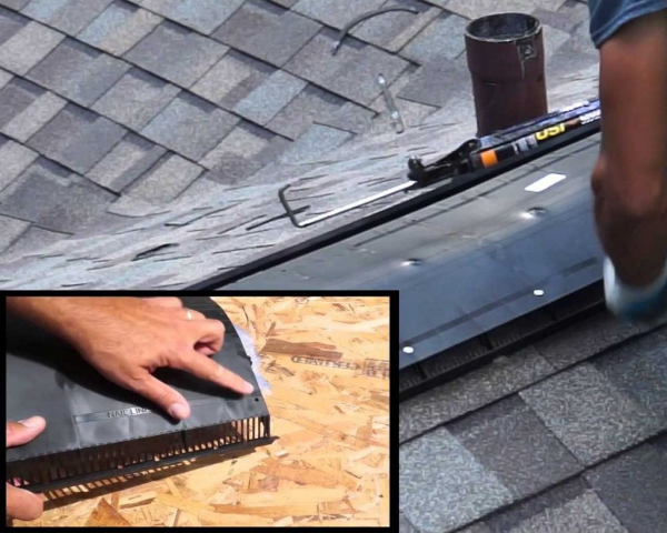 Roof Vent Install